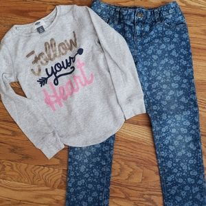 Old Navy Girls Outfit Size 7